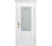 Межкомнатная дверь ВЕНЕЦИЯ В1 ПО белая эмаль