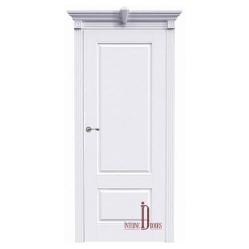 Дверь межкомнатная АККОРД А15 ПГ - Эмаль белая