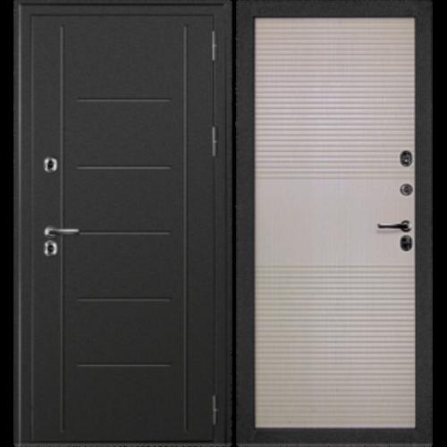 Входная дверь CISA Термаль беленый дуб - терморазрыв