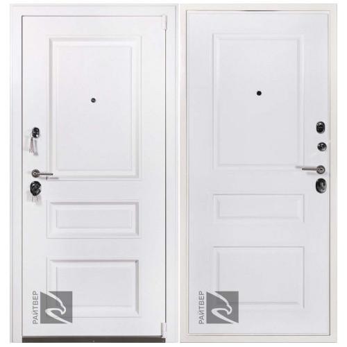 Входная дверь CISA Прадо муар белый терморазрыв