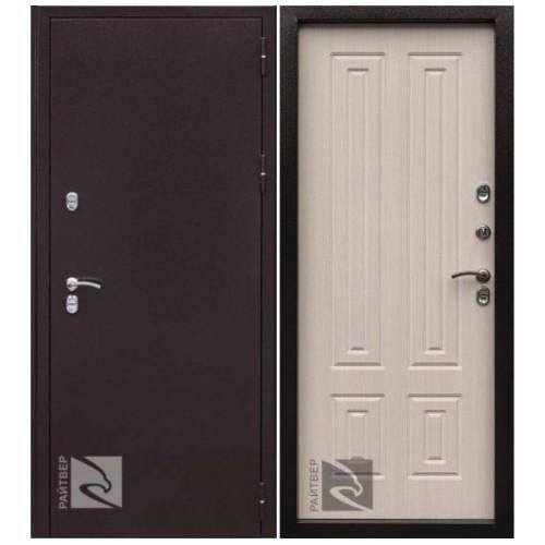 Входная дверь CISA Термо-К терморазрыв белый дуб