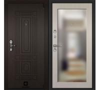 Входная дверь Cisa Sarbona Лиственница белая зеркало