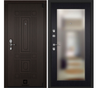 Входная дверь Cisa Sarbona Венге премиум зеркало