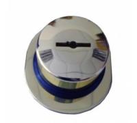 Бронированная защита на пиновую накладку (хром)  CISA (Чиза)
