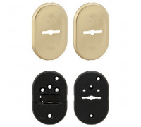 Декоративная накладка CISA (Чиза) 06.144.10.1 на сувальдный замок с направляющими для ключа
